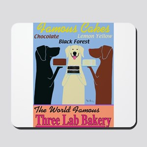 Three Lab Bakery Mousepad