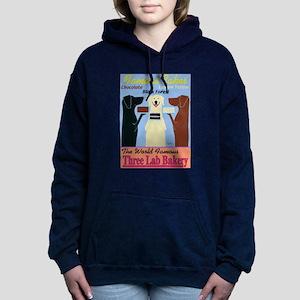 Three Lab Bakery Women's Hooded Sweatshirt