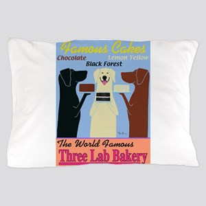 Three Lab Bakery Pillow Case