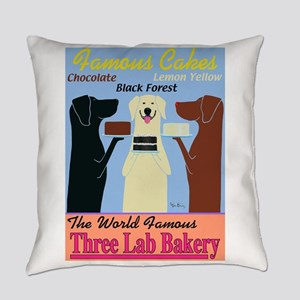 Three Lab Bakery Everyday Pillow