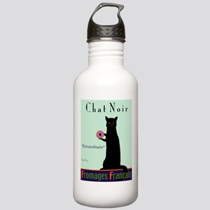 Chat Noir (Black Cat) Stainless Water Bottle 1.0L