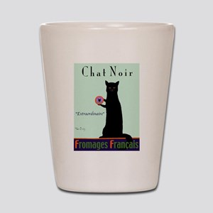 Chat Noir (Black Cat) Shot Glass