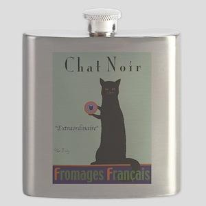 Chat Noir (Black Cat) Flask