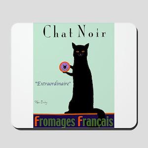 Chat Noir (Black Cat) Mousepad