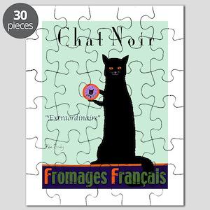 Chat Noir (Black Cat) Puzzle