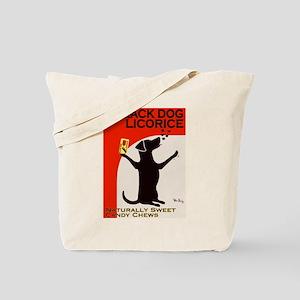 Black Dog Licorice Tote Bag