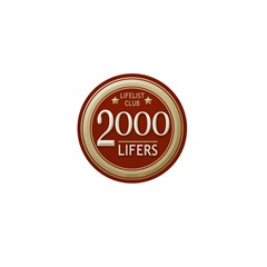 Lifelist Club - 2000 Mini Button