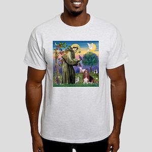 St. Francis & Basset Light T-Shirt
