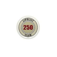 Lifelist Club - 250 Mini Button