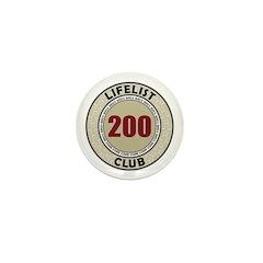 Lifelist Club - 200 Mini Button