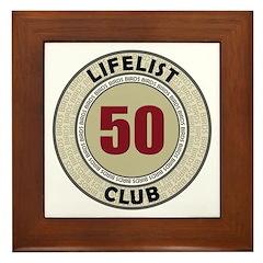 Lifelist Club - 50 Framed Tile