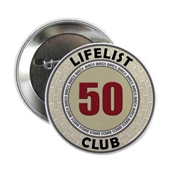 Lifelist Club - 50 Button