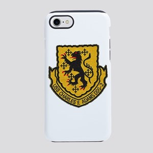 USS CHARLES F. ADAMS iPhone 8/7 Tough Case
