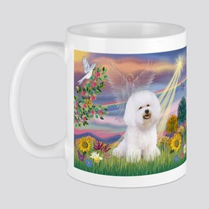 Cloud Angel & Bichon Mug