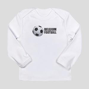 Belgium Football Long Sleeve T-Shirt