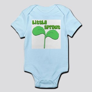 """LITTLE SPROUT"" Infant Creeper"