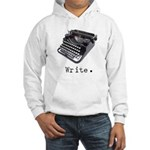 Typewriter Hooded Sweatshirt