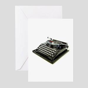 Typewriter Greeting Cards (Pk of 10)