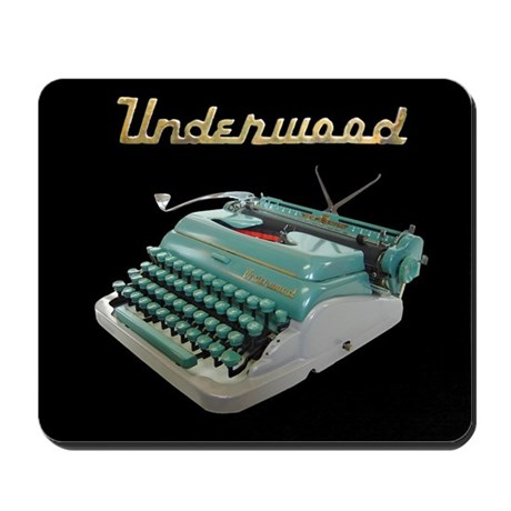 Typewriter Mousepad