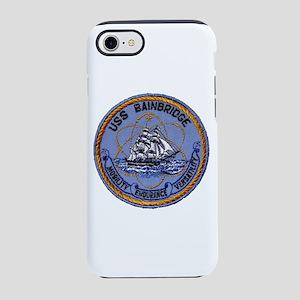 USS BAINBRIDGE iPhone 8/7 Tough Case