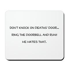 don't knock Mousepad