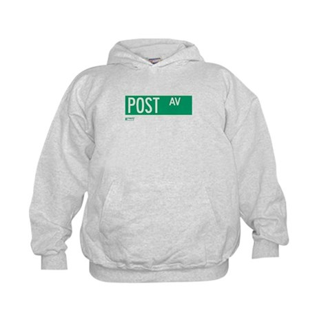 Post Avenue in NY Kids Hoodie