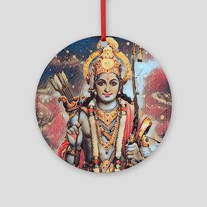 Ram 1 Merchandise Round Ornament