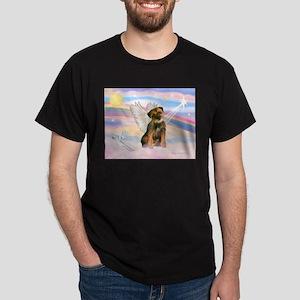 Angel / Border Terrier Dark T-Shirt