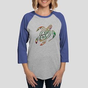 Green Honu Long Sleeve T-Shirt
