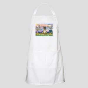 Cloud Angel & Boxer BBQ Apron
