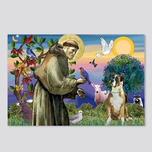Saint Francis & Boxer Postcards (Package of 8)