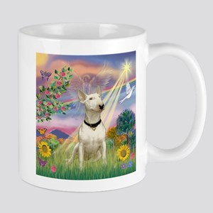 Cloud Angel & Bull Terrier Mug