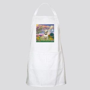 Cloud Angel & Bull Terrier BBQ Apron