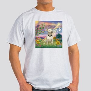 Cloud Angel & Bull Terrier Light T-Shirt