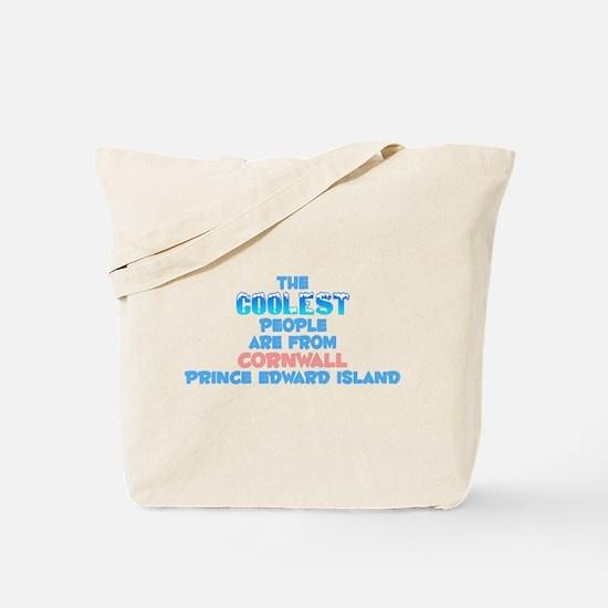 Coolest: Cornwall, PE Tote Bag