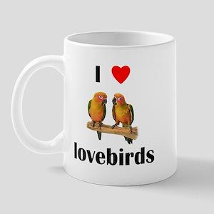 I love lovebirds Mug