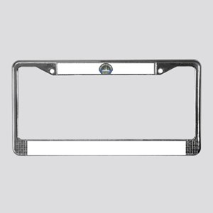 Mormon Temple Security License Plate Frame