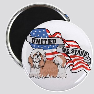 United We Stand Shih Tzu Magnet