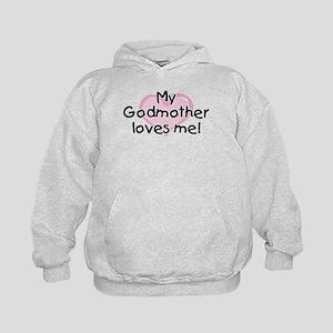 My Godmother loves me pk Kids Hoodie