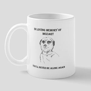 mozart dedication Mug