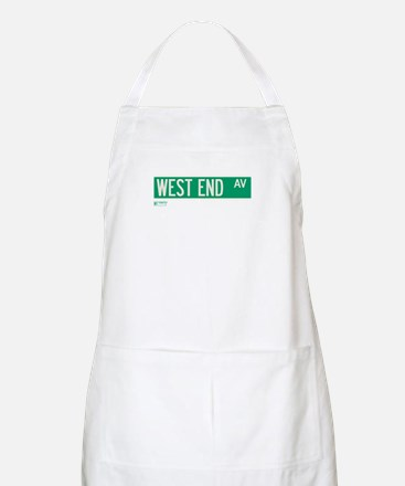 West End Avenue in NY BBQ Apron