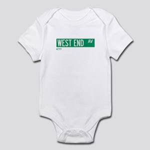West End Avenue in NY Infant Bodysuit