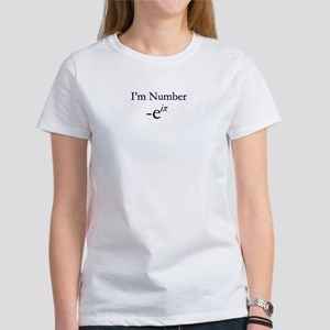 Women's T-Shirt: -e to the i pi