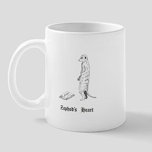 Zaphod's Heart Mug