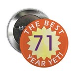 Best Year - Button - 71 (10 pack)