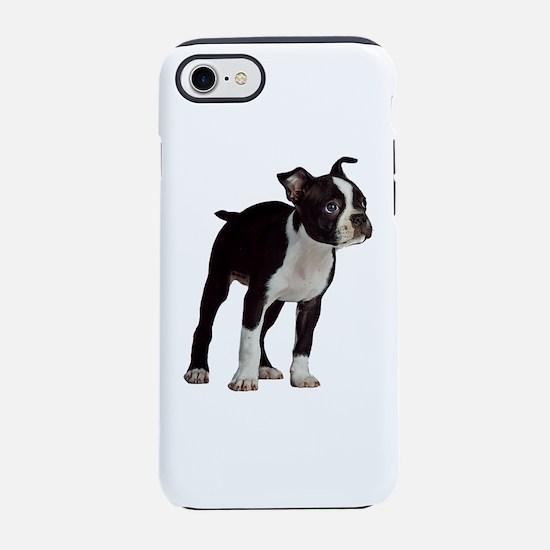 Boston Terrier Puppy iPhone 8/7 Tough Case