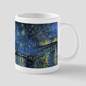 Van Gogh 1888 Starry Night Over the Rhone Mugs