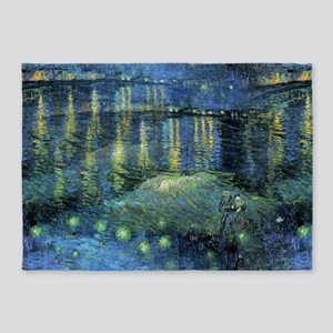 Van Gogh 1888 Starry Night Over the Rhone 5'x7'Are