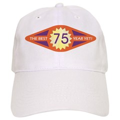 Baseball Cap - Best Year - 75
