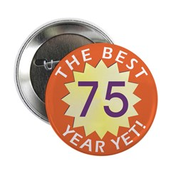 Best Year - Button - 75 (10 pack)